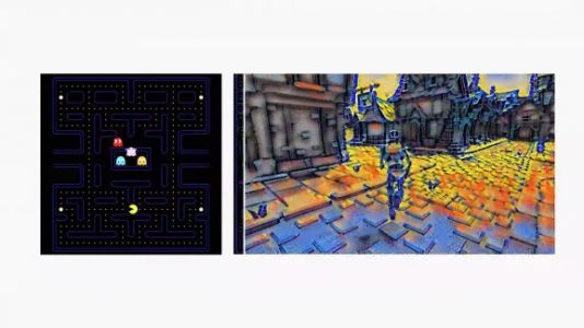 Google's Stadia uses Style Transfer ML to manipulate video game environments