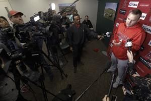 Moreno says Angels have had internal talks on new Trout deal