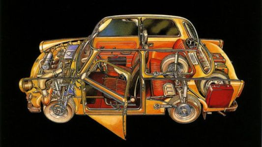 There's more space than you'd expect inside a Trabant