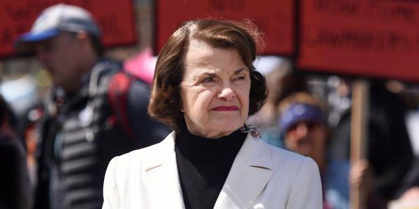 Dianne Feinstein says politicians need to vote on gun control bills after the Thousand Oaks shooting, or we'll see 'more bodies lying at the foot of failed Republican leadership'