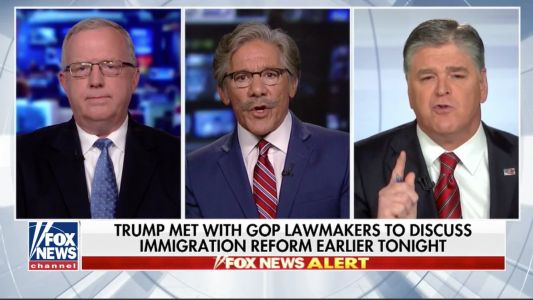 'When did we become the party of child abuse?': Geraldo Rivera rips Trump's zero tolerance policy in Sean Hannity interview that went off the rails