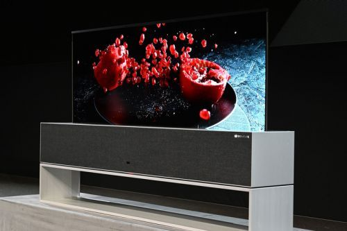 LG to Release World's First Rollable OLED TV
