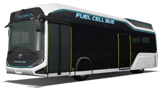 Man I Wish Toyota Would Build A Rad Fuel Cell Bus For NYC