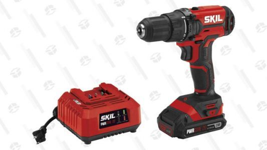 Grab a 1/2 Inch Cordless Drill Driver for Only $55