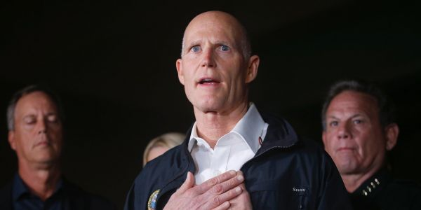 Florida's Republican governor just called for action to ensure people with mental illnesses can't access guns