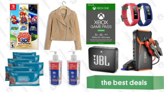 Friday's Best Deals: Xbox Game Pass Ultimate, Fitbit Ace 2, 20% off at Anthropologie, Hand Sanitizer, Mpow M5 Wireless Earbuds, and More