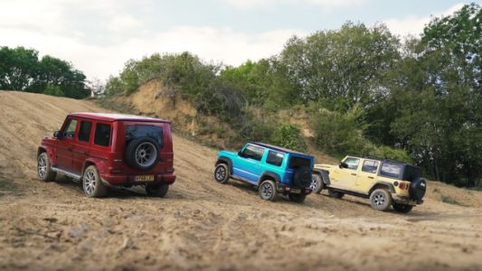 See How A G-Wagen, Jimny, And Jeep Fare In A Three-Way Challenge