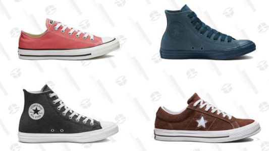 A Bunch of Converse Sneakers Are on Sale For $25