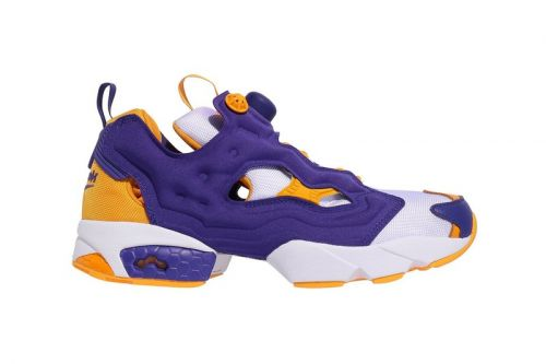 Reebok's Latest Instapump Fury OG Is for Die-Hard Lakers Fans