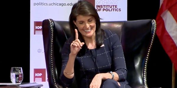 'Just think of it as church': Nikki Haley describes how the discussion over Trump's 'Little Rocket Man' nickname for Kim Jong-un played out