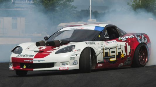 The Corvettes Are Taking Over Drifting