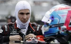 IndyCar driver Wickens taken to hospital after scary crash