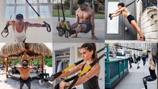 Cling To Your New Year's Fitness Goals With $80 Off a TRX Suspension Training Kit