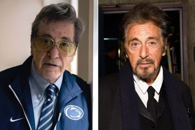 Al Pacino's 1st Pics As Joe Paterno, Child Rapist-Protecting Football Coach