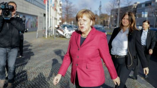 Germany's Merkel, Weakened After Poor Election Showing, Struggles To Form Government