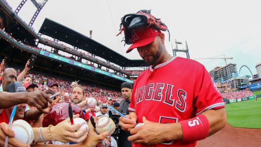 Albert Pujols calls return to St. Louis 'one of the best moments' of his career
