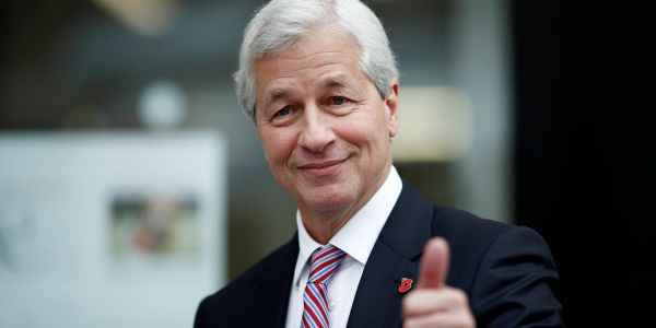JPMorgan CEO Jamie Dimon says he's still 5 years from retirement - 2 years after saying the same thing