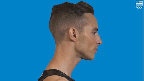 """Olympian Adam Rippon Is Hoping to Inspire LGBTQ Youth: """"I Like Being a Role Model"""""""