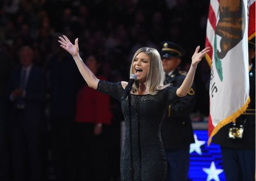 Fergie's national anthem performance draws immediate critiques, laughs