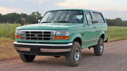 This Old Forest Service Ford Bronco And $15,000 For Gas Or A 2021 Bronco Base: Who You Got?
