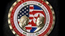 There Are Some Problems With This Commemorative Trump-Kim Jong Un Coin