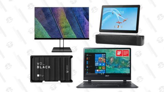 Pick Up a Discounted Monitor, Laptop or Tablet With This Gold Box Sale