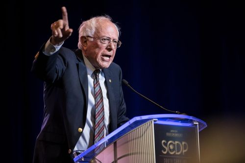 Sanders condemns any Russian influence in election