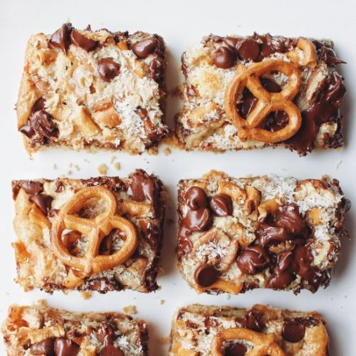Grain-Free Peanut Butter Magic Bars