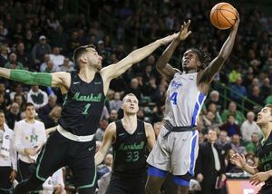 Marshall hands Middle Tennessee first conference loss, 73-63