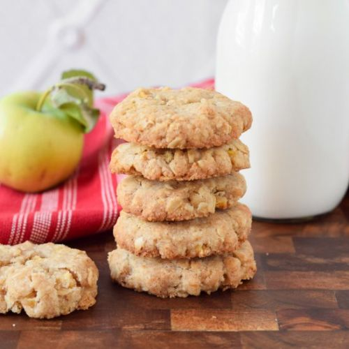 Gluten Free Apple Oatmeal Cookies