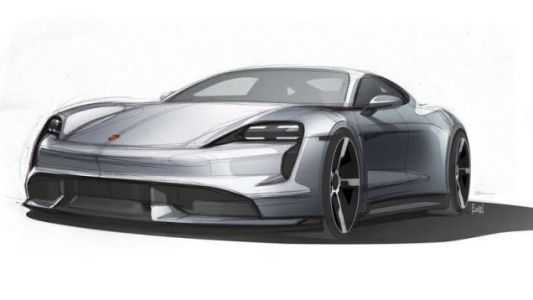 If the Porsche Taycan Looks Like Its Final Sketch It'll Be Great News