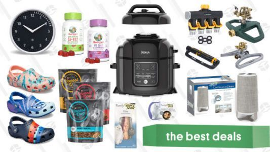 Wednesday's Best Deals: Instant Pot, Sonos, Purina Pet Food, and More
