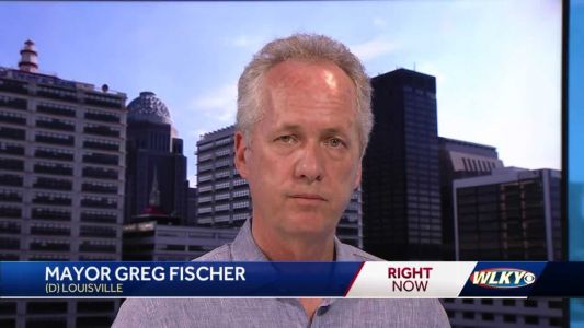Louisville Mayor Greg Fischer stops by WLKY studio, calls for full LMPD review