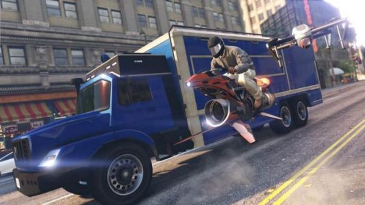 GTA Online's Newest Truck Is Really Helpful