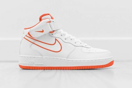 "The Nike Air Force 1 Mid Receives a ""Terra Orange"" Outline Colorway"