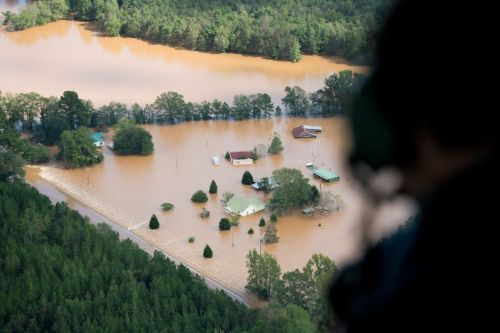 17 photos show Hurricane Florence's devastating flooding from the sky
