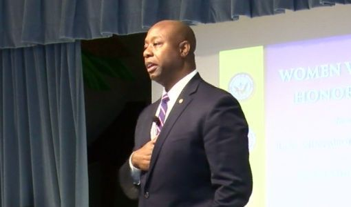 Sen. Tim Scott calls Trump's Democratic congresswomen tweets 'racially offensive'