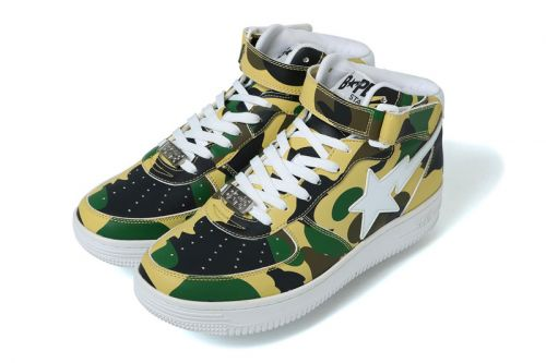 BAPE Set to Release a Pair of Classic 1ST CAMO BAPE STA Mids