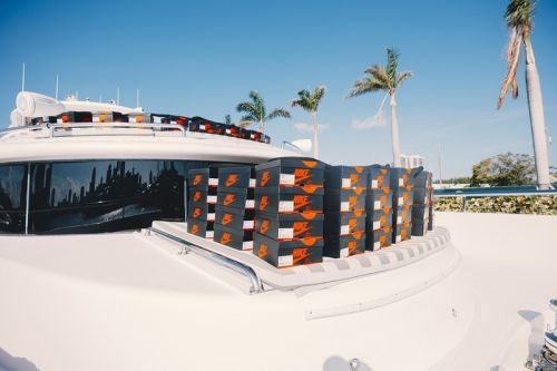"""What Went Down at the Social Status x Air Jordan 1 """"Rust Pink"""" & """"Igloo"""" Yacht Pop-Up Release"""