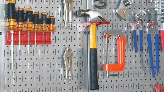 Keep All Your Tools Within Reach With This $28 Pegboard