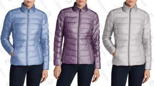 This $45 Eddie Bauer Jacket Will Keep You Warm, But Not Too Warm