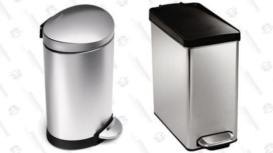Upgrade Your Bathroom Trash Can to simplehuman Starting at $15