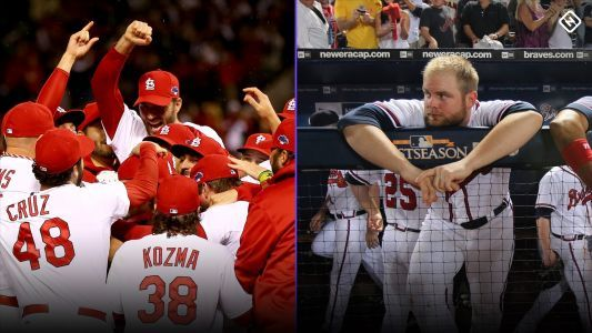 Cardinals, Braves enter Game 5 of NLDS carrying polar opposite playoff histories