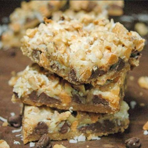 Sinful Seven Layer Magic Bars