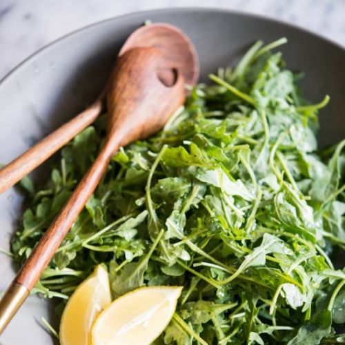 Lemon Sea Salt Arugula Salad