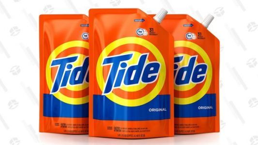 Amazon Will Ship You 93 Loads of Tide Detergent For $14