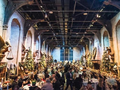 You can celebrate a Harry Potter-themed Christmas at Hogwarts' Great Hall - but you need to get your tickets ASAP