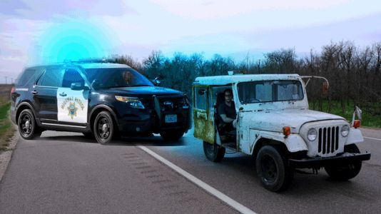 I Had Three Strange Run-Ins With the Police in My $500 Postal Jeep