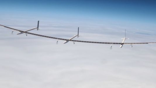 The Boeing Odysseus is a Solar Aircraft Capable of Staying in the Air Indefinitely