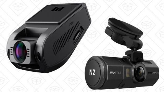 Keep An Extra Set of Eyes on the Road With a Pair of Dash Cam Deals